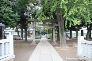 蓮根氷川神社(板橋区蓮根)1