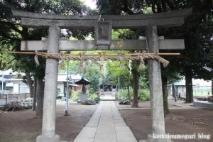 蓮根氷川神社(板橋区蓮根)5
