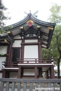 蓮根氷川神社(板橋区蓮根)20