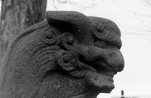 氷川神社(足立区中川)2