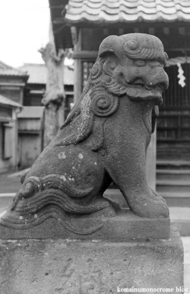 氷川神社(足立区中川)3