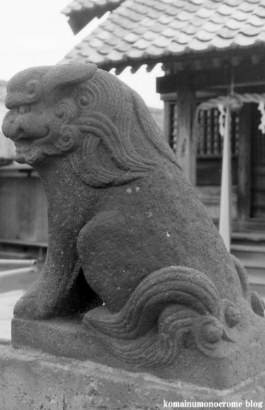 氷川神社(足立区中川)1