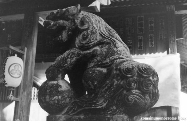 阿伎留神社(あきる野市五日市)1