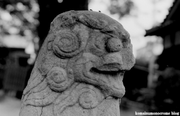 川辺八幡神社(大阪市平野区長吉川辺)2