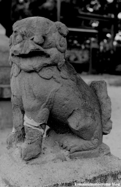 川辺八幡神社(大阪市平野区長吉川辺)1