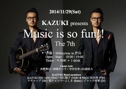 Music is so fun!! The 7th for web