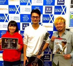 KAZUKI at 千住クロス Music LIVE
