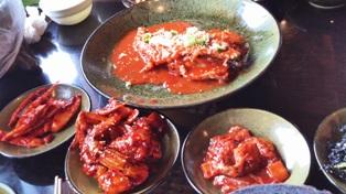 KOREA民家レストランキムチ料理