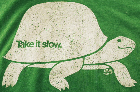 how to take slow k