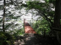 遠山川に架かる橋