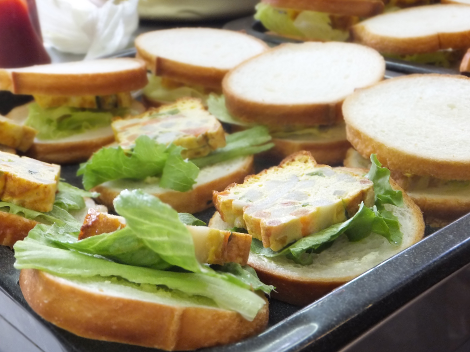 ランチボックス卵サンド