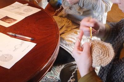 グラニーバッグ編み