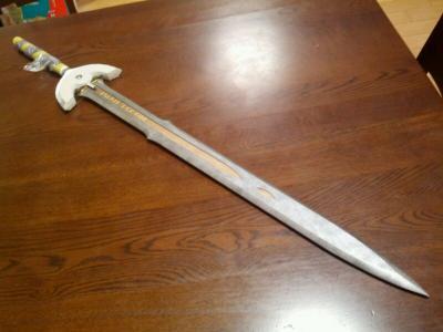 S様 ロトの剣(王者の剣ver) 刀身完成