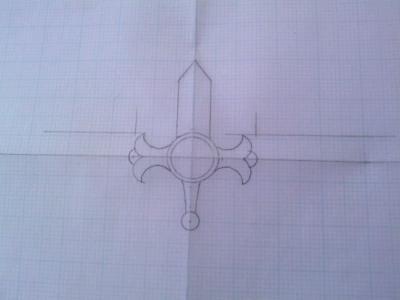 聖剣レイヴェルトの設計図詳細