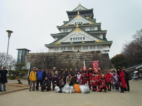 ⑧終了後甲冑隊の皆様と記念撮影 (3)