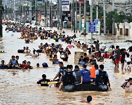 フィリピン台風