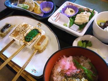 お豆腐ランチ