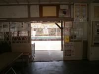 神戸駅駅舎内からホーム