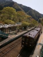 神戸駅到着列車縦