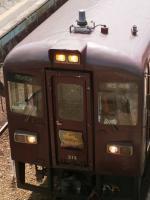 神戸駅到着列車アップ