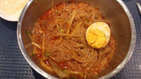 ソウル駅ビビン麺