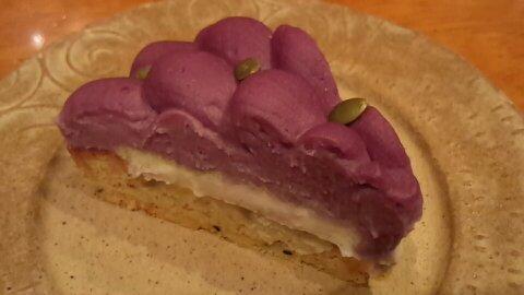セカンドハウス紫芋タルト①