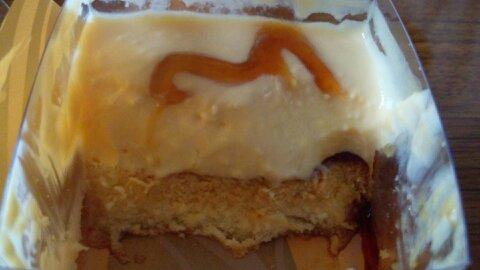 四角いプリンのケーキ③