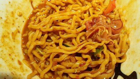 カレー和え麺⑤