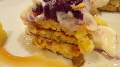 バター紫芋③
