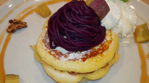 バター紫芋①
