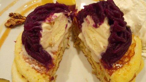 バター紫芋②