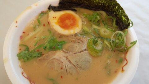 九条ネギフェスタ光麺