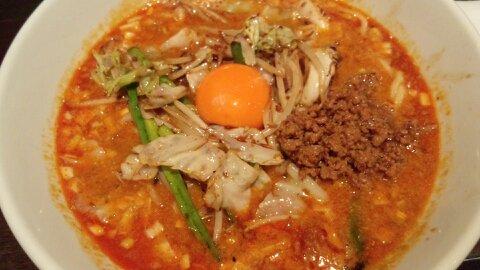 煌力スタミナ担々麺