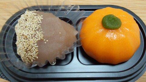 栗とかぼちゃ②