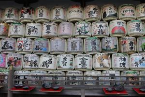 松尾大社酒樽