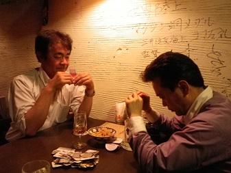 伊知郎さんと樋口さん