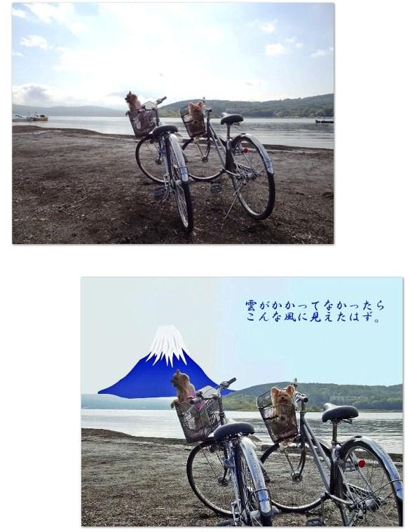10富士山は雲の向こう
