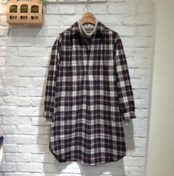 20131107シャツワンピ1