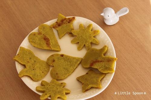 IMG_1726 米粉とかぼちゃの薄焼き