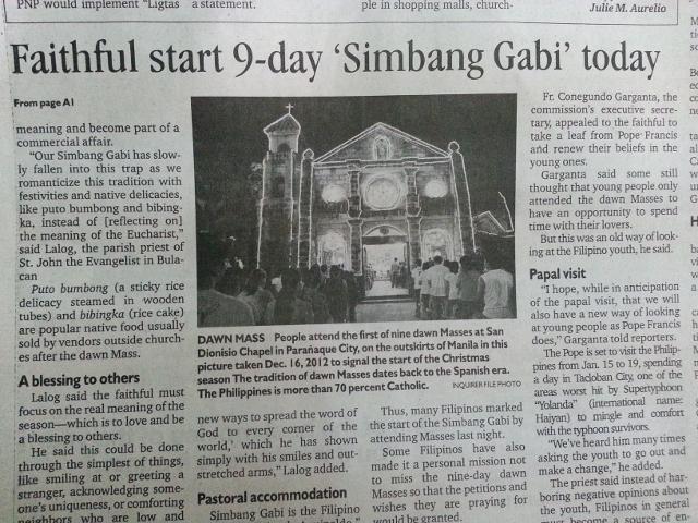 9-day Simbang Gabi (9)