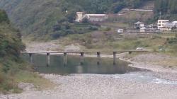 浅尾の沈下橋