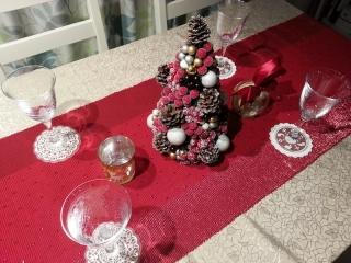 イケアエムフルト/ダイニングテーブル/クリスマス1