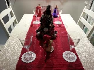 イケアエムフルト/ダイニングテーブル/クリスマス2