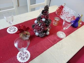 イケアエムフルト/ダイニングテーブル/クリスマス3