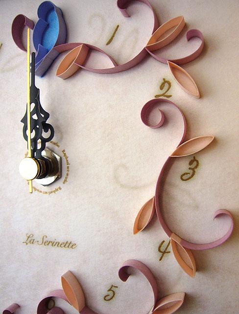 La Serinette Gift clock Pink(アップ)