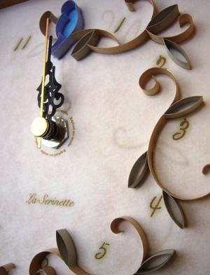La Serinette Gift clock Baige(アップ)