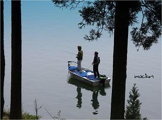 北山ダム湖