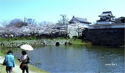福岡城址大手門・潮見櫓