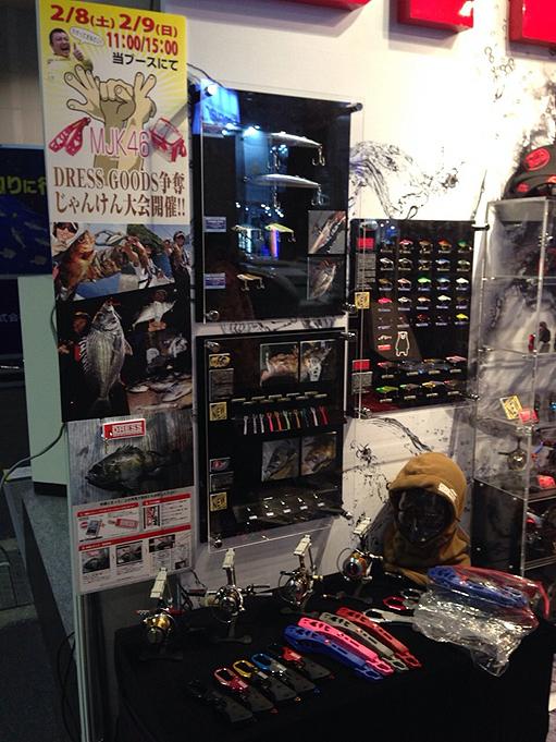 ライラクス DRESS フィッシングショーOSAKA2014 大阪003