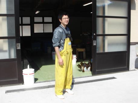 なまこ工場の若き経営者.JPG